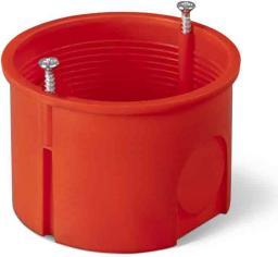 Elektro-Plast Puszka podtynkowa 60mm z wkrętami czerwona PK-60 PRO (0281-01)