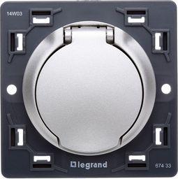 Legrand CELIANE Gniazdo do odkurzacza centralnego tytanowa 067433 - 67433