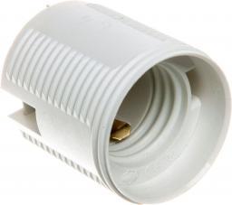 Kontakt-Simon Oprawka izolacyjna FOBOS E27 jednoczęściowa z gwintem zewnętrznym biała OTE27-11T  (TOF-27110Txx-010)