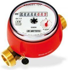 BMETERS Wodomierz GSD8 Q3= 1,6 DN15 antymagnetyczny, ciepła woda  (GSD8C15110SMIDR100/R50)