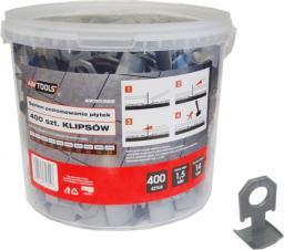 AWTools System do poziomowania płytek 7-14mm klips 400szt. (AW30366)