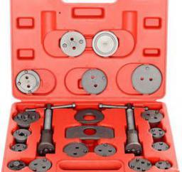 Geko Zestaw do wyciskania tłoczków hamulcowych 21 elementów (G02541)