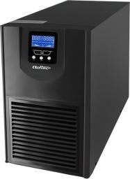 UPS Qoltec 1000VA 800W USB RJ45 4xSchuko LCD (53920)