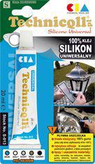 Technicqll Silikon uniwersalny brązowy blister 20ml (S041)