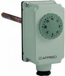 """Afriso Termostat zanurzeniowy TC2, 0÷90°C, nastawa zewnętrzna, przyłącze G1/2"""", L 100 mm (6740700)"""