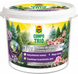 COMPO Nawóz do iglaków TRIO 3w1 4,5kg