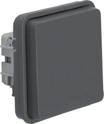 Berker Gniazdo pojedyncze W.1 z/u moduł IP55 szary (6768803515)