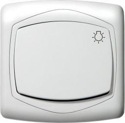 Ospel Łącznik światło Ton pojedynczy biały (ŁP-5C/00)