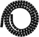 Organizer 4World Organizer kabli SMART SNAKE - średnica 34mm, długość 1.5m, czarny (06520)