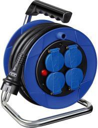 Brennenstuhl Przedłużacz bębnowy Garant Kompakt IP44 4 x 230V czarny 8m (1072444)
