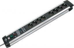 Listwa zasilająca Brennenstuhl Premium-Protect-Line przeciwprzepięciowa 8 gniazd 3m srebrny (1391004608)