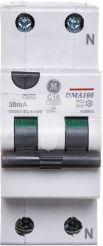 GE Power Wyłącznik różnicowo-nadprądowy DMA60 2P A 13A C (609778)