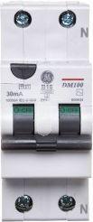 GE Power Wyłącznik różnicowo-nadprądowy DM100 AC 2P 4A C (609961)