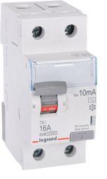 Legrand Wyłącznik różnicowo-prądowy 2P 16A 0,01A typ AC P302 TX3 (411502)