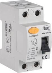 Kanlux Wyłącznik różnicowo-prądowy AC 2P 25A (23195)