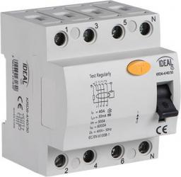 Kanlux Wyłącznik różnicowo-prądowy 4P 63A AC (23185)