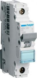 Hager Polo Wyłącznik nadprądowy 1P B 6A 10kA AC (NBN106)