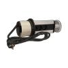 Orno Gniazdo meblowe fi10cm, 3x250V AC wysuwane z blatu z ładowarką USB i przewodem (OR-AE-1353)