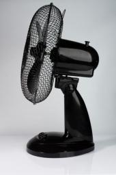 Volteno Wentylator biurkowy czarny 30cm (VO0025)
