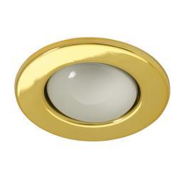 Kanlux Sufitowa oprawa punktowa RAGO DL-R50-G złoto (01072)