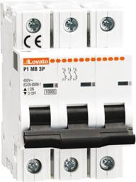 Lovato Electric Ogranicznik mocy 3P 6A 10kA (P1MB3PT06)