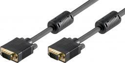 Kabel Goobay D-Sub (VGA) - D-Sub (VGA), 10, Czarny (50491)