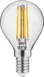 GTV Żarówka LED E14 4W 400lm 220 - 240V ciepła biała (LD-G45FL4-30)
