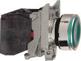 Schneider Electric Przycisk sterowniczy 22mm zielony z samopowrotem z podświetleniem 1Z 1R (XB4BW33B5)