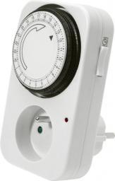 Kanlux Programator czasowy TS-MF1 mechaniczny 16A 2P+Z dobowy (01001)