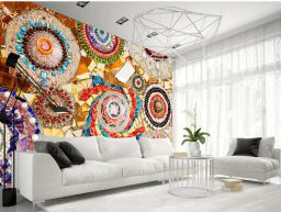 Artgeist Fototapeta - Marokańska mozaika 400x280