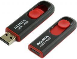Pendrive ADATA Classic C008 16GB Czarny (AC008-16G-RKD)