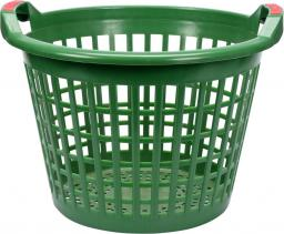 FLO Kosz ogrodniczy 35L ażurowy zielony (35611)