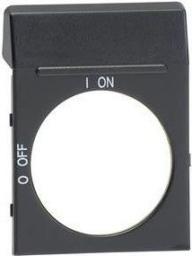 ABB Tabliczka opisowa czysta do pokręteł OH2 czarna, OPB2 (1SCA022353R4110)