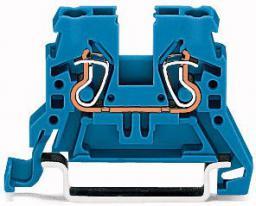 WAGO Złączka szynowa 2-przewodowa 2,5mm2 niebieska (870-904)