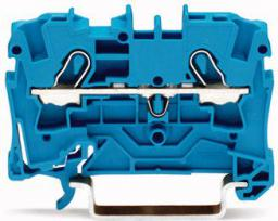 WAGO Złączka 2-przewodowa TOPJOBS 4mm2 niebieska (2004-1204)