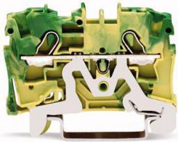 WAGO Złączka 2-przewodowa żółto-zielona TOPJOBS 4mm2 (2004-1207)