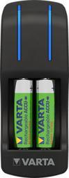 Ładowarka Varta Ładowarka akumulatorów 7h AA / AAA Pocket LED +4 akumulatory R2U 2600mAh (57642101471)