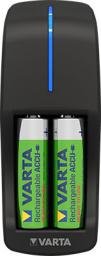 Ładowarka Varta Mini ładowarka akumulatorów 15h AA / AAA +2 akumulatory R2U AA 2100mAh (57646101451)