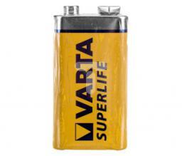 Varta Bateria cynkowo-węglowa 6F22 9V /foliowane/ SUPERLIFE