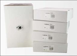 LogiLink Kabel transmisyjny drut 4x2xAWG24/1,UTP,CCA,100m