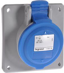 Legrand Gniazdo tablicowe 16A 3P 230V niebieskie IP44 P17 TEMPRA PRO (555184)