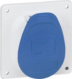 Legrand Gniazdo tablicowe 3P 16A 230V niebieskie IP44 (057611)