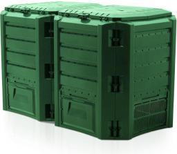 Prosperplast Kompostownik Module Compogreen 800L 2 segmenty 135 x 71,9 x 82,6cm zielony (IKSM800Z-G851)