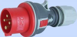 Elektromet Wtyczka przenośne proste TWIST 16A 400V IP44 (922071)