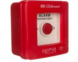 Elektromet Wyłącznik alarmowy 2Z 12A /ALARM TECHNICZNY/ IP55 WA-2s (921403)
