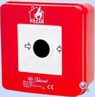 Elektromet Ręczny ostrzegacz pożarowy 4R 12A IP65 WP-6s ROP A (921414)