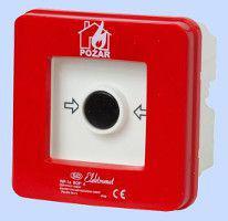 Elektromet Ręczny ostrzegacz pożarowy 2Z 12A IP65 WPp-1 ROP B (921556)