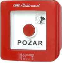 Elektromet Ręczny ostrzegacz pożarowy 2Z 12A NO-NO IP65 WPp-2s ROP A (921552)