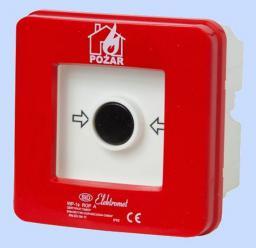 Elektromet Ręczny ostrzegacz pożarowy 2Z 2R 12A IP65 WPp-4s ROP A (921562)