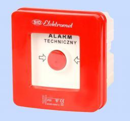 Elektromet Wyłącznik alarmowy 2Z 12A /WYŁĄCZNIK GŁÓWNY/ IP55 WG-2s (921441)